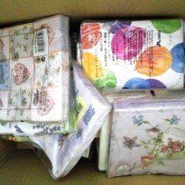 不蝶了 #x1f623 版 ,50張300含運~蝶古巴特餐巾紙福袋