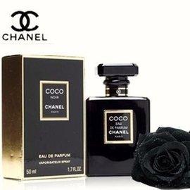 Chanel 香奈兒 COCO NOIR 黑色可可EDP女士香精50ML附chanel禮袋