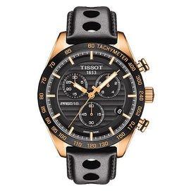 TISSOT 天梭 PRS516 競速三眼計時腕錶 42mm T1004173605100