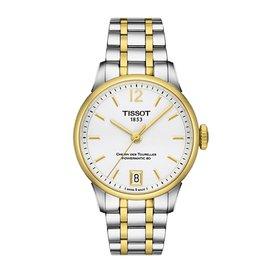 TISSOT 天梭 CHEMIN 復古 女用機械腕錶 32mm T099207220370