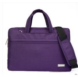 蘋果筆記本單肩電腦包男女士超薄手提內膽包13.3 14 15.6寸(紫色)