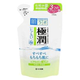 ROHTO 肌研 極潤 保濕清爽化妝水 補充包 補充液 170ml