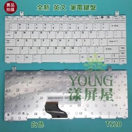 ~漾屏屋~東芝 Toshiba Portege A100  英文 白色 筆電 鍵盤
