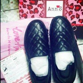 Ann's 厚底增高懒人鞋