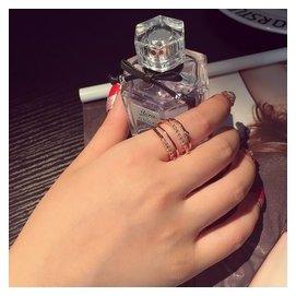 氣質日韓潮人個指環多層百搭 飾品誇張女士戒指食指