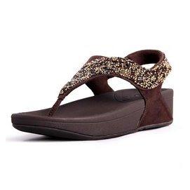 fitflop 夾腳彩色碎鑽女涼鞋 沙灘女鞋 減肥塑身鞋 羅馬鞋