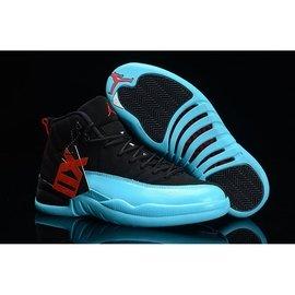 【LongLeg】NIKE AIR JORDAN 12 XII GAMMA BLUE 喬丹 伽馬藍 黑藍 男女 男鞋區