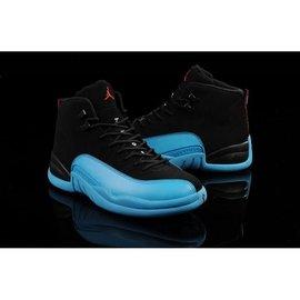 【LongLeg】NIKE AIR JORDAN 12 XII GAMMA BLUE 喬丹 伽馬藍 黑藍 男女 女鞋區