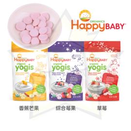 美国【Happy Baby】  婴儿有机饼干 优格饼(3种口味)