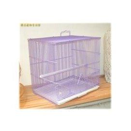臻品寵物 館 密網紫色9吋.九吋摺疊鐵籠 鳥籠 鼠籠.適綠繡眼.斑紋鳥.十姐妹.虎皮.橫斑
