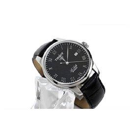天梭 Tissot 手表男士全自動機械表精鋼帶30mm防水力洛克男表腕表