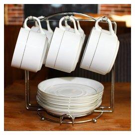 陶瓷歐式咖啡杯套裝 簡約 骨瓷咖啡杯英式紅茶杯