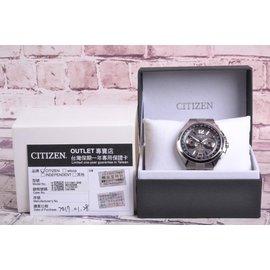 星辰 CITIZEN 光動能浩瀚衛星 對時腕錶 CC1091~50E GB^#63341T