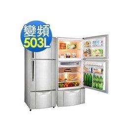 TECO 東元 503公升 變頻三門電冰箱 R5061VXK
