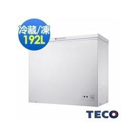 TECO 東元 RL1988W 單門 192L 冷凍櫃