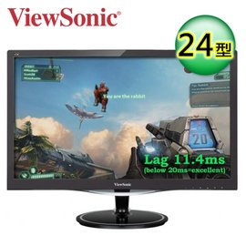 ViewSonic 優派 VX2457MHD 極速電玩螢幕