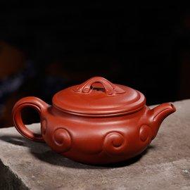 御壺宜興紫砂壺 茶壺正品純原礦全 寬口清水泥如意仿古茶具