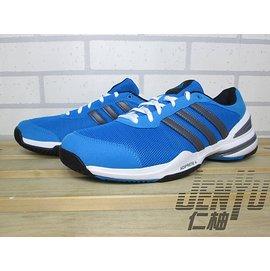 【喬治城】 ADIDAS Rally Oop w 專業網球鞋 藍/白桃 6折 超特價1495元 M20072