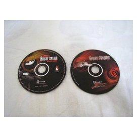 電玩遊戲 - 彩虹六號 湯姆克蘭西 精兵悍將 諜海殺機+不知名的光碟(右邊)