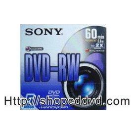執宇 網 索尼 新力 SONY 8CM Mini DVD-RW 60分鐘 2.8gb 單