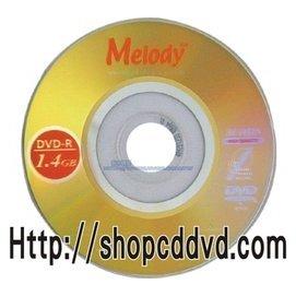 執宇光碟 中環 Melody 8cm DVD-R 4x 1.4GB 30分鐘 25片25