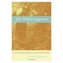 The Will to Improve: Governmentality  Develop