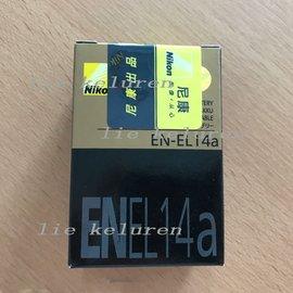 ~ ~ 盒裝 NIKON EN~EL14a EL14a 鋰電池 D5500 5200 D3
