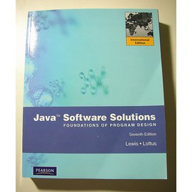 ~Java: Software Solutions Foundations of Prog