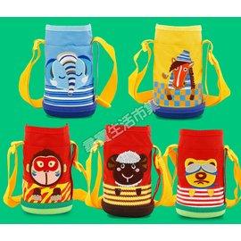 兒童水壺杯套 兒童保溫杯套 卡通背帶保溫杯套 保溫壺杯套  壺套 水壺背帶 防燙 套子 水壺保護套 卡通 小朋友