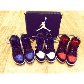 Jordan 1代 喬丹 鞋模 小鞋 鑰匙圈 生日