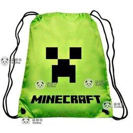當個創世神 苦力怕 束口袋 防水背包 帆布包 Minecraft JJ怪 我的世界 麥塊