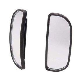粉紅泡泡屋--  CARMATE 安全輔助鏡 長半圓型  CZ245 黏貼式超廣角行車輔助