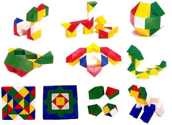 遊思樂 益智教具系列【U-bi小舖】三角形連接方塊(三角塊)300PCS/包01