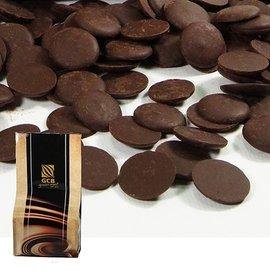 ~GCB~深黑苦甜鈕扣巧克力5KG分裝 麵包西點烘焙   ~來自象牙海岸及迦納濃郁可可風味