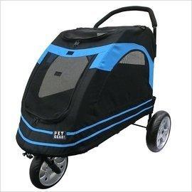 Ω永和喵吉汪Ω~美國PET GEAR PG8600型 藍色~耐重45KG!大型犬推車