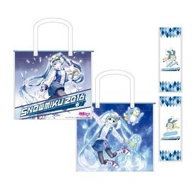 2016 雪ミク SNOW MIKU 會場限定 官方 袋 雪初音 Shopping Bag