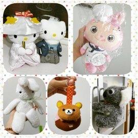 玩偶 玩具 布娃娃 娃娃 布偶 白兔 王心凌 熊寶 洋娃娃 kitty 拉拉熊 兔子 凱蒂
