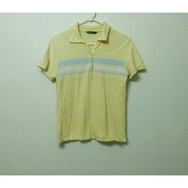 專櫃 bossini 條紋短袖POLO衫
