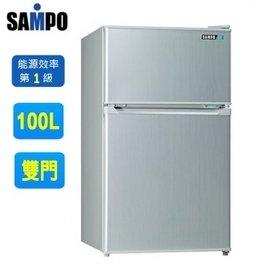 SAMPO聲寶100公升定頻節能冰箱 SR~P10G 含運不含拆箱定位