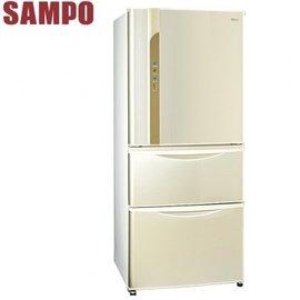 SAMPO聲寶 560公升變頻一級三門冰箱 SR~LW56DV W3