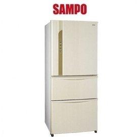 買就送 SAMPO聲寶 560L變頻一級三門冰箱SR~LW56DV 白W3