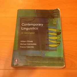 語言學概論 Contemporary Linguistics An Introductio