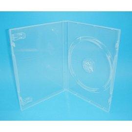 【臺灣 】單片裝14mm PP霧透 CD盒 DVD盒 光碟盒 CD殼 有膜 50個
