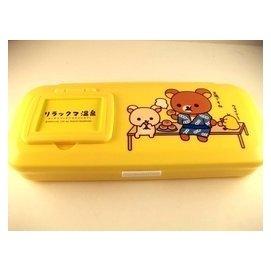 *雅琳 * Rilakkuma 懶懶熊 拉拉熊 鏡梳筆盒 溫泉 163911
