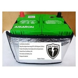 ~民雄電池~Raydoon雷盾電瓶隔熱套 90D23L 90D23R AMARON 愛馬龍