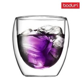 雙層 蛋形雙層玻璃杯 雙層咖啡果汁杯 保溫隔熱杯 bodum 250ml
