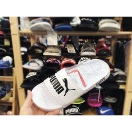 帝安诺-PUMA POPCAT SWAN 白 黑 白黑 运动拖鞋 凉鞋 拖鞋 经典款 360265 12