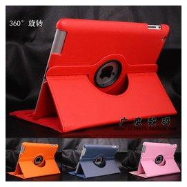蘋果ipad3保護套 ipad4 ipad2保護殼旋轉皮套 檔位帶休眠全包外殼