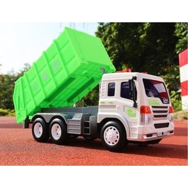優速快購 遙控車無線工程環衛清潔垃圾電動遙控汽車兒童玩具車男孩