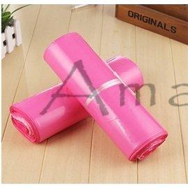 ~六八包材~100入 28~42新料雙層~粉色~ 破壞袋 快遞袋 寄件袋 1.2KG